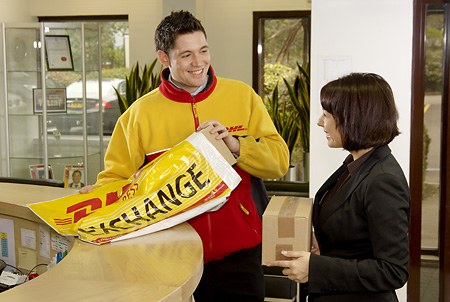 DHL Exchange in offices, Hounslow
