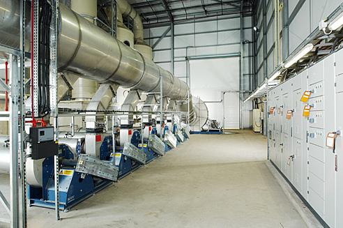 Industrial Fan Room - Plant Room 2