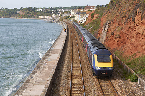 Dawlish Railcote Track