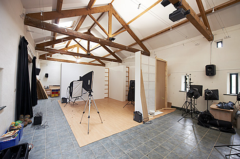 Location Studio in a 5 bay barn