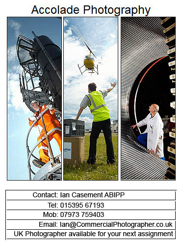 Commercial Photographer contact card
